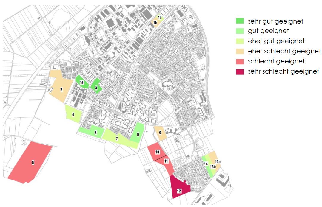 Unterschleißheimer Wohnbauflächen