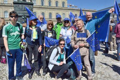 Radler bei #pulseofeurope