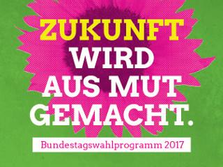 Wahlprogramm Bundestagswahl 2017