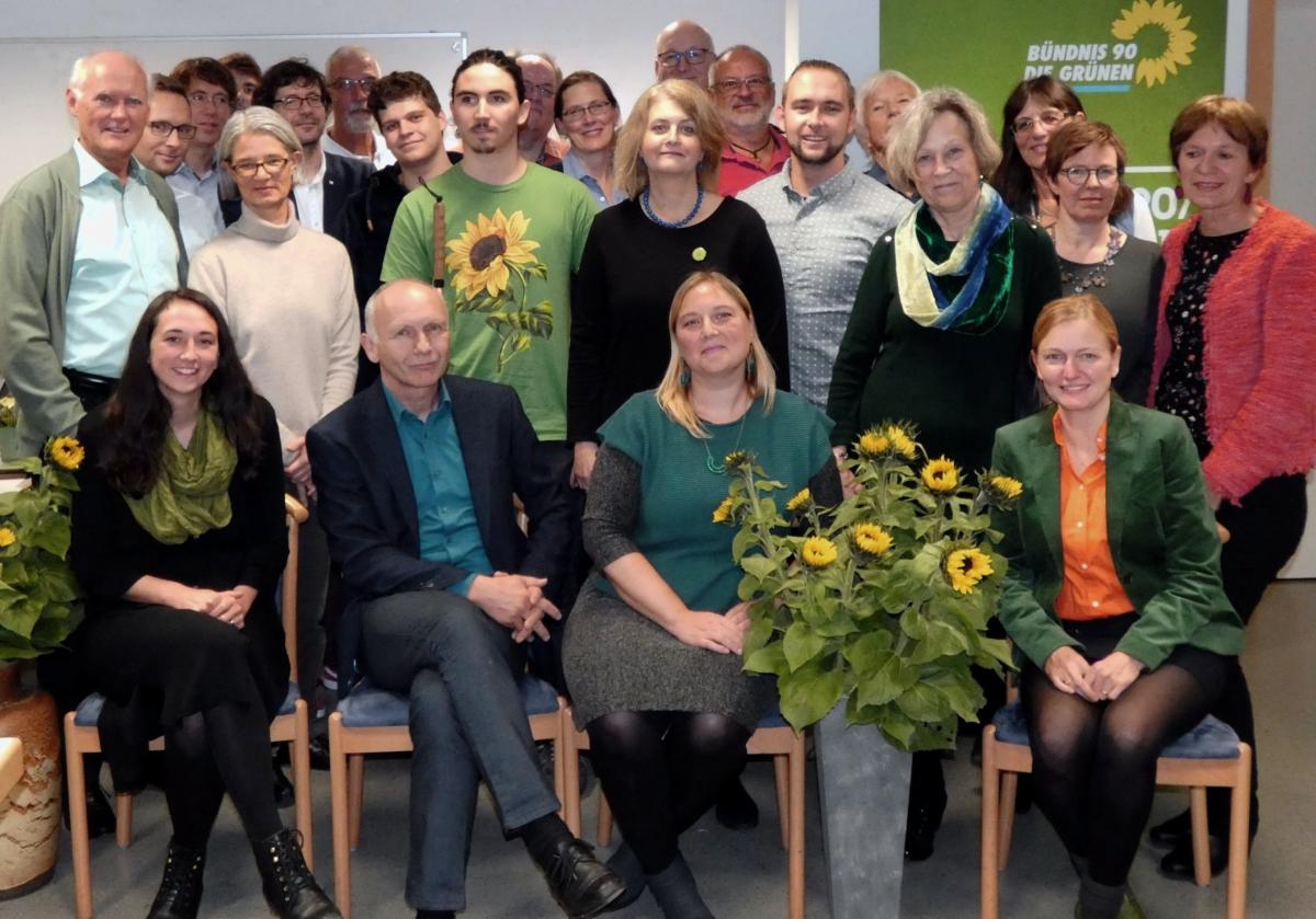 Grüne Bewerberinnen und Bewerber für den Unterschleißheimer Stadtrat