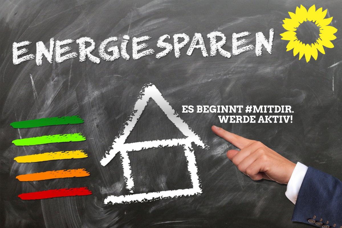 Energie sparen - Es beginnt #MITDIR - Werde Aktiv